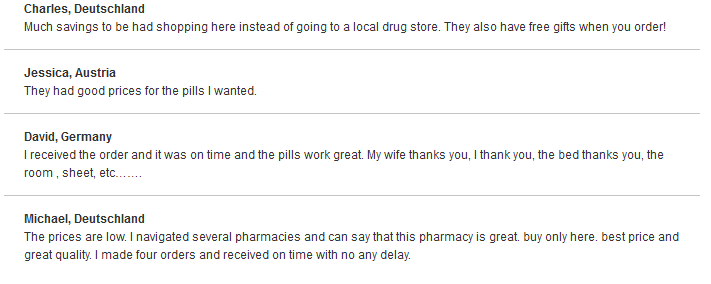 Good Pills Customer Reviews